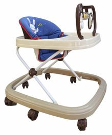 Babycenter India Jolly Walker with Toy Bar - Blue