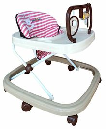 Babycenter India Jolly Walker with Toy Bar - Pink
