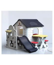 Babycenter India Kids Park Play House - Navy Blue White