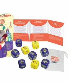 Chalk and Chuckles Rolling Tales Story Telling Game - Multicolour