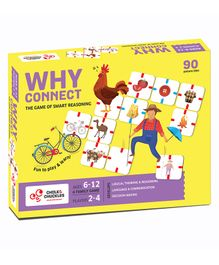 Chalk and Chuckles Why Connect Game - Multicolour