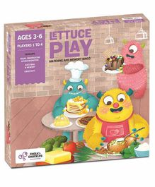 Chalk and Chuckles Lettuce Play Picture Food Bingo - Multicolour