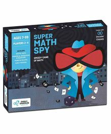 Chalk and Chuckles Super Math Spy Game - Multicolour
