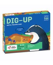 Chalk and Chuckles Dig Up Board Game - Multicolor