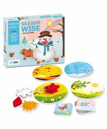 Chalk and Chuckles Season Wise Board Game - Multicolor