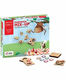Chalk and Chuckles Sandwich Mix Up  Touch & Feel Game - Multicolor