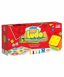 Ankit Toys Junior 2 in 1 Ludo Snakes & Ladder - Multicolor