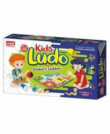 Ankit Toys Kids Ludo Board Game - Multicolor