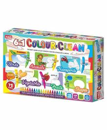 Ankit Toys 6 in 1 Colour & Clean Kit - 24 Cards