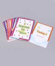 My House Teacher Baby Milestone Kit - 30 Cards