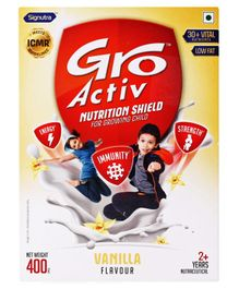 GroActiv Nutirition Shield for Growing Child Vanilla - 400 gm