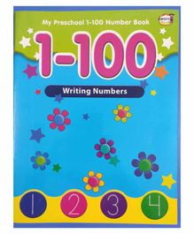 Khushi Publication 1 to 100 Writing Numbers Book - English