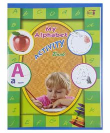 Khushi Publication My Alphabet Activity Book - English