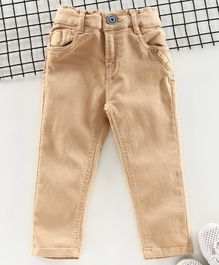 Little Kangaroos Full Length Trousers - Brown