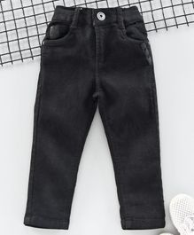 Little Kangaroos Full Length Trousers - Black