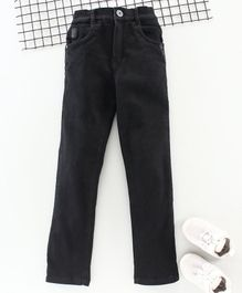 Little Kangaroos Full Length Pants - Black