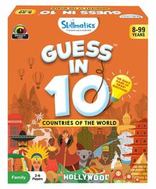 Skillmatics Guess in 10 Countries of the World Brown - 56 Cards