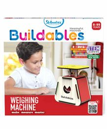 Skillsmatic Buildables Weighing Machine Kit - Red