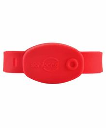Saniband Sanitizer Wristband - Red