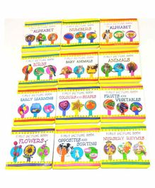 Sterling My First Picture Box of 12 Board Books - English