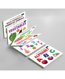 Book Ford Publications My First Tiny Board Books Combo Pack of 6 - Hindi, English