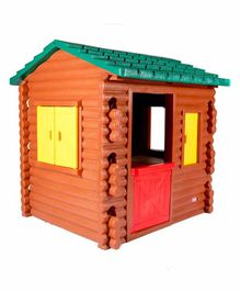 Little Tikes Log Cabin Play House - Brown