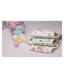 Lollipop Lane Small Cloth Diapers with Velcro Closure - Pack of 3