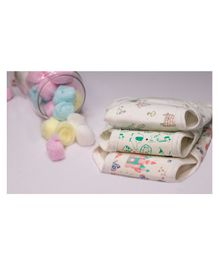 Lollipop Lane Large Cloth Diapers with Velcro Closure - Pack of 3