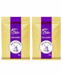 Oateo Organic Rolled Oats Pack of 2 - 500gm