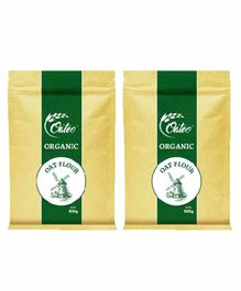 Oateo Organic Oats Flour Pack of 2 - 500 gm