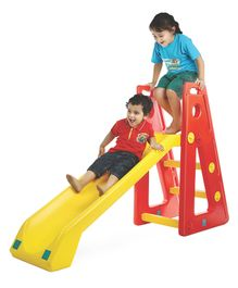 OK Play Baby Slide Senior - Yellow Red