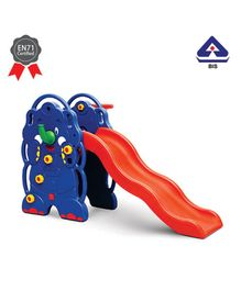 OK Play Elephant Slide - Blue Red