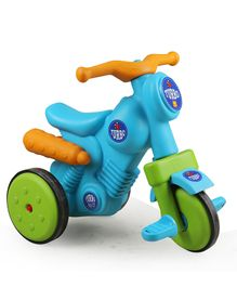 OK Play Turbo Tricycle - Sky Blue