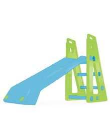 OK Play Baby Slide Senior - Sky Blue & Green