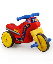 Ok Play Street Hawk Tricycle - Red