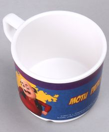 Motu Patlu Cup with Handle Blue - 200 ml