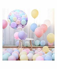 Untumble Party Balloons Multicolor - Pack of 50