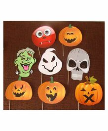 Untumble Halloween Photo Props - Pack of 8