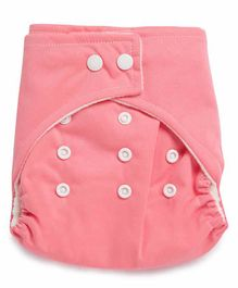 Kicks and Crawl Reusable Cloth Diaper with Insert - Pink