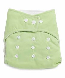 Kicks & Crawl Reusable Cloth Diaper - Green