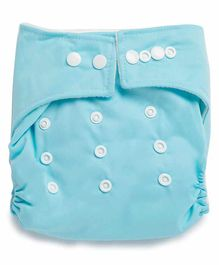 Kicks & Crawl Reusable Cloth Diaper - Blue