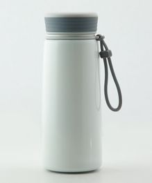 Pix Double Wall Insulated Thermos Bottle White - 400 ml