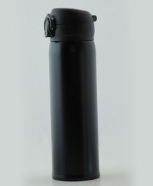 Pix Double Wall Insulated Thermos Bottle Black - 500 ml