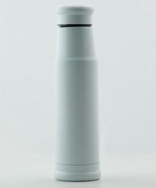 PIix Double Wall Insulated Stainless Steel Thermos Flask White - 500 ml