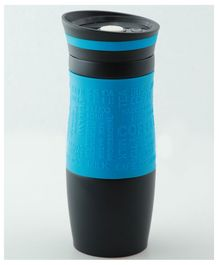 PIX Stainless Steel Mug with Lid Blue Black - 450 ml