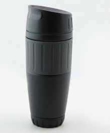 PIX Stainless Steel Mug with Lid Black - 500 ml