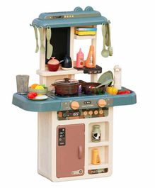 Fiddlerz Battery Operated Kitchen Play Set Blue - 36 Pieces