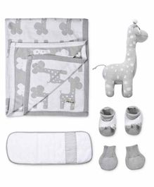 Mi Arcus Mini Me Knitted Gift Set Pack of 5 - Grey
