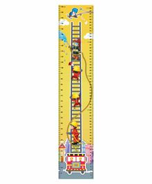 Navneet Height Chart Fire Engine Design - Yellow