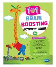 Navneet 101 Brain Boosting Activity Book - English